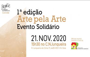 1ª edição Arte pela Arte - Evento solidário