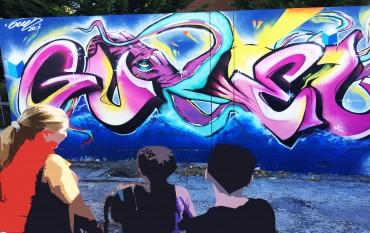 Graffiti na Casa do Caminho !