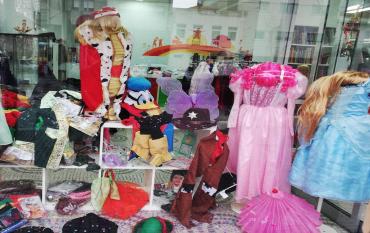 Fantasias para o Carnaval no Bazar Social